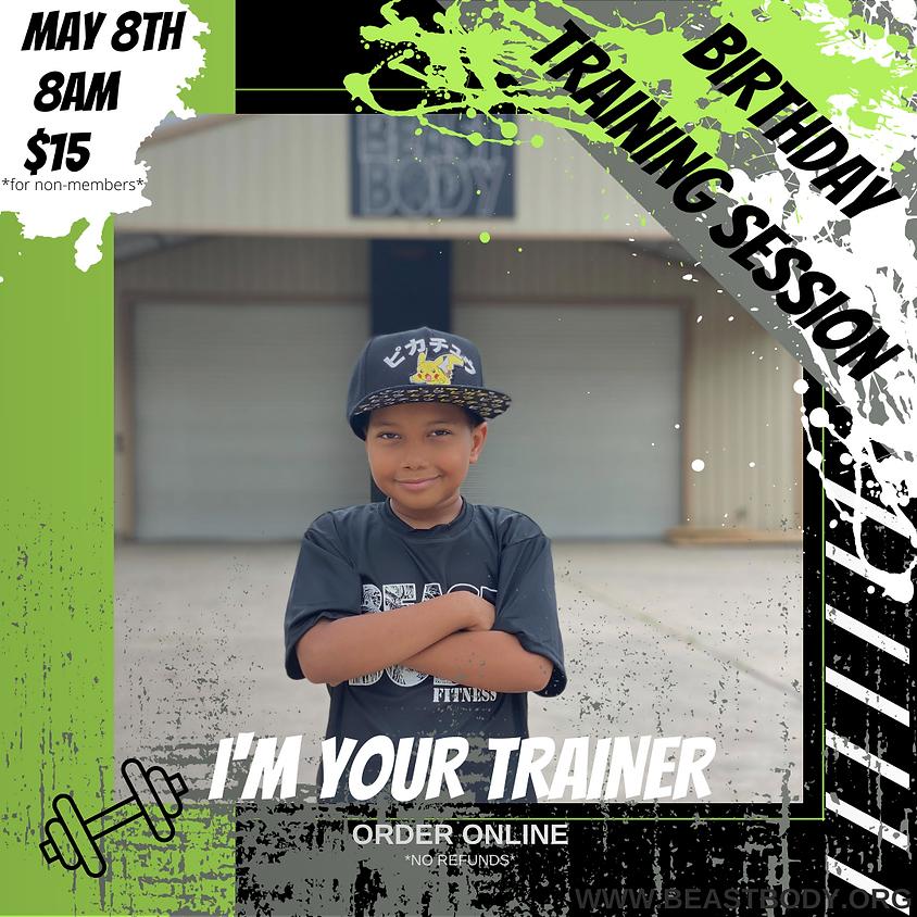 Birthday Bootcamp with Trainer Uri