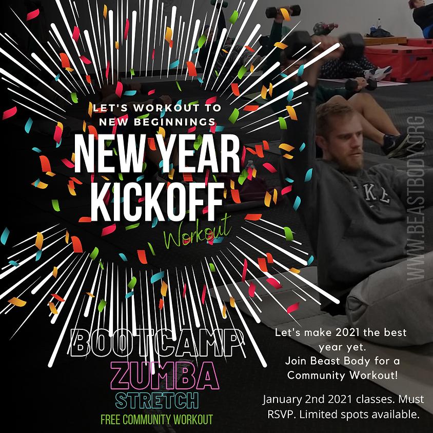 New Years Kickoff Zumba (Inhouse) 11:15a