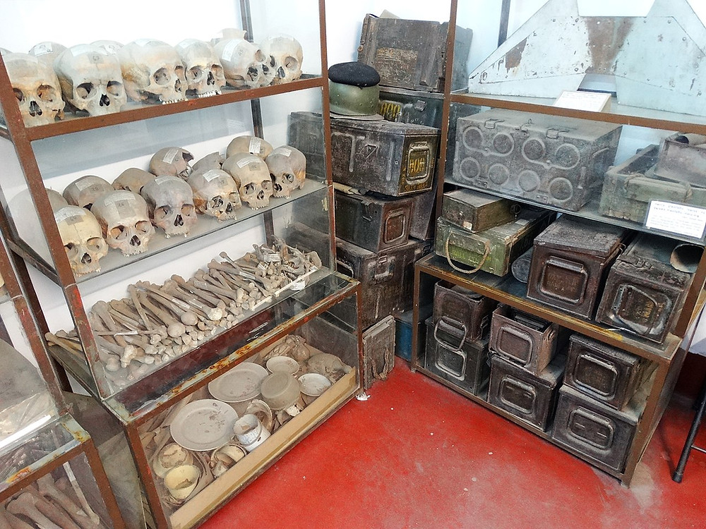 Human Remains and War Materiel from 1971 Genocide