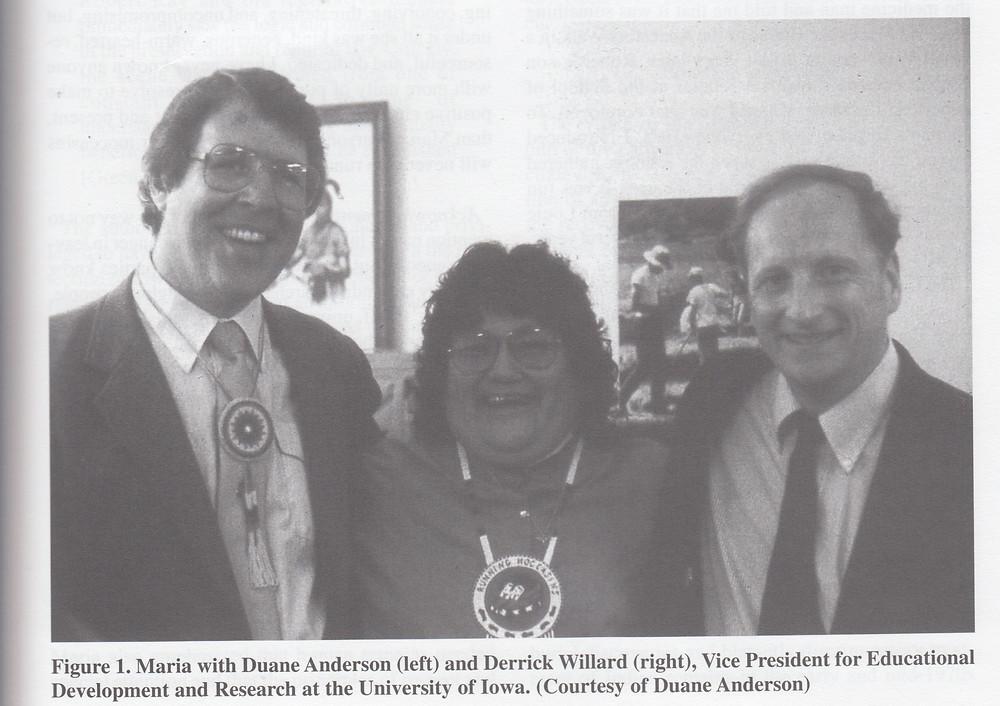 Duane Anderson, Maria Pearson, and Derrick Willard