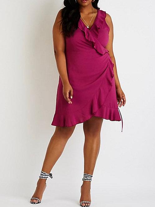 Plus Size Hot Mama Flair Dress