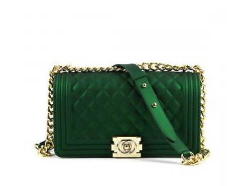 Green Jelly Crossbody Bag
