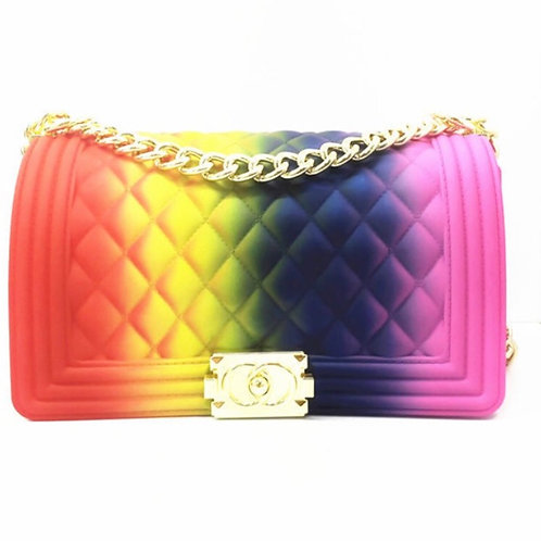 Multi Jelly Handbag