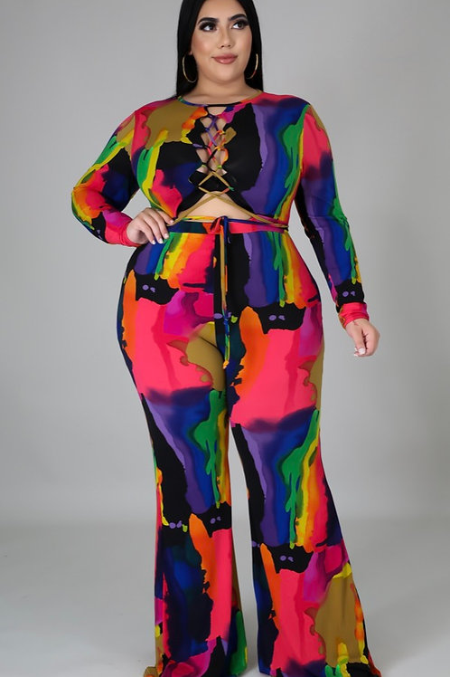 Painted to Cuteness jumpsuit