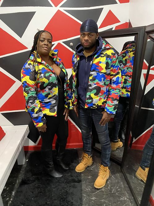Multi Color unisex jackets