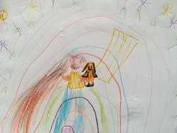 Sophie - _Cristine avec des cheveux arc-