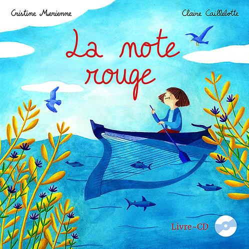 LA NOTE ROUGE - livre-CD