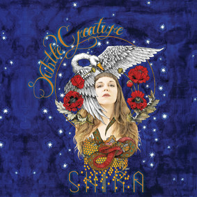 """album cover for """"Subtle Creatures"""" by SHIRA, a musician and poet based out of Brooklyn, NY"""