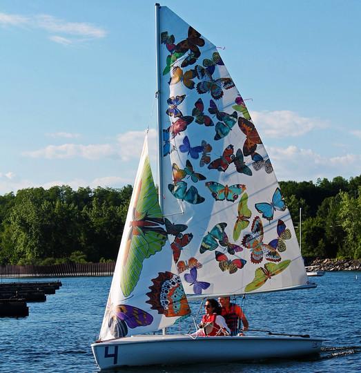 final sail out on Lake Champlain