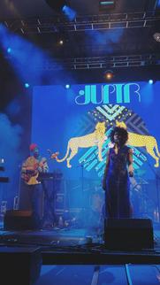 JUPTR performing in Denver, Colorado at the US Open 2019