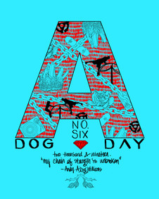 T-shirt design for the 6th annual celebration of the life of DJ A_Dog Andy Williams hosted by the non-profit Friends For A_Dog in Burlington, VT