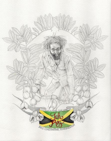portrait of Jah Roy Constantine Cunningham