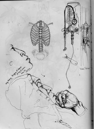 sketch book: Day -5. Boston, MA. May 17, 2013