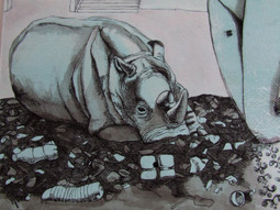 detail of Landfill