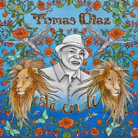 "album cover for ""Esta en Ti"" by Tomas Diaz, musician based out of Miami, FL"