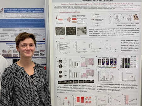 Alba Grayston's poster on MAGBBRIS awarded at VHIR Scientific Meeting