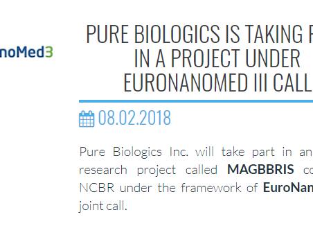 MAGBBRIS project at Pure Biologics Website