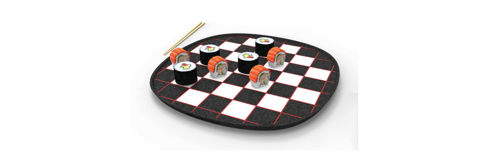 Piatto Play Sushi - Opus Mosaici