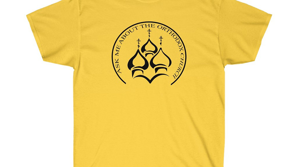 Ask Me About the Orthodox Church Tee