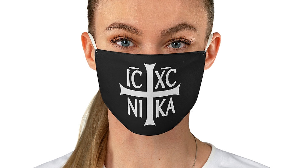 Jesus Christ Conquers Face mask