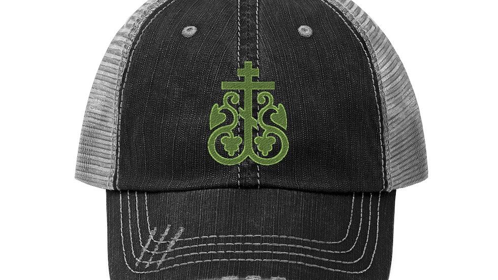 Delightful Cross Trucker Hat