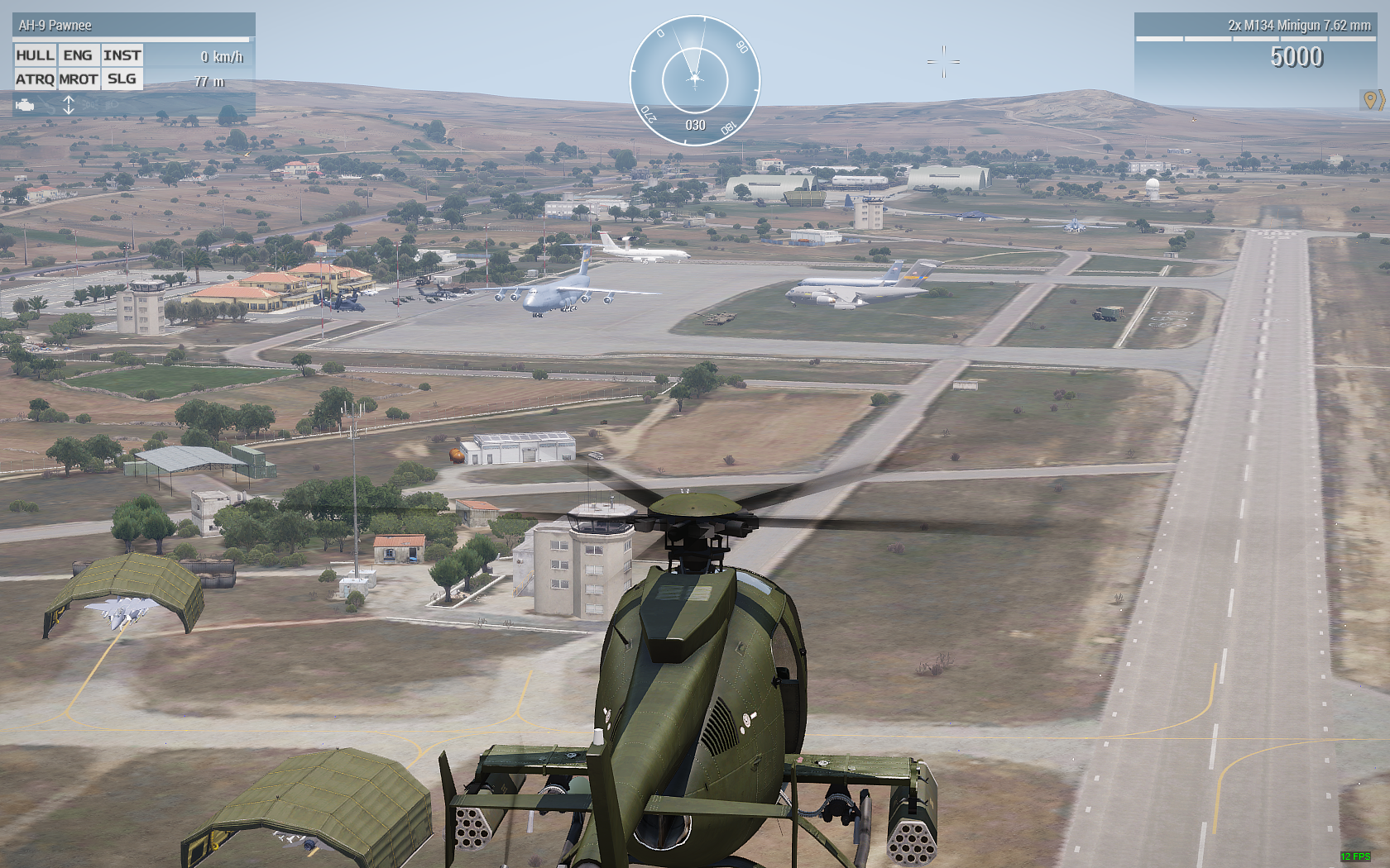Arma 3 US Air Force fighters and Airlift Air drops