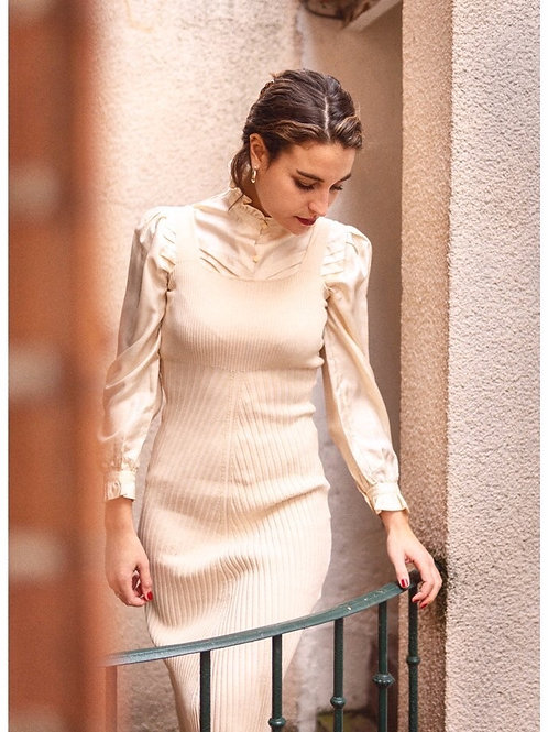 COCO ROBE MAILLE