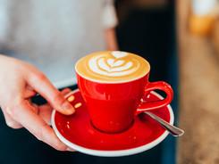 Café Verdun Station W art latte
