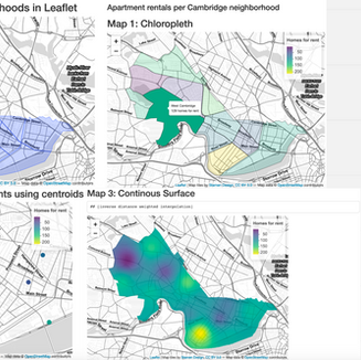 Interactive Webmapping in Leaflet with R: Apartment Rentals in Cambridge