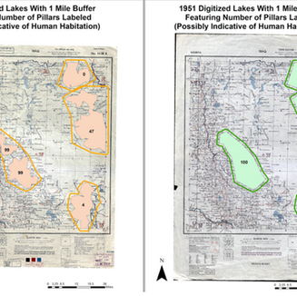 Creating Vector Data of Digitized Lakes