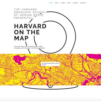 Harvard On the Map