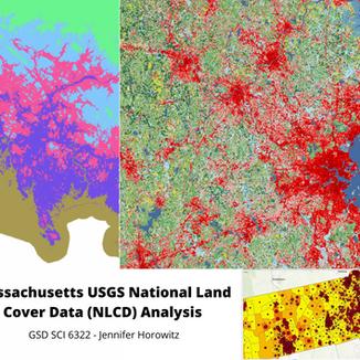 Massachusetts USGS National Land Cover Data (NLCD) Analyses