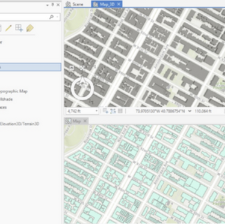 2D and 3D Extraction of Buildings in California