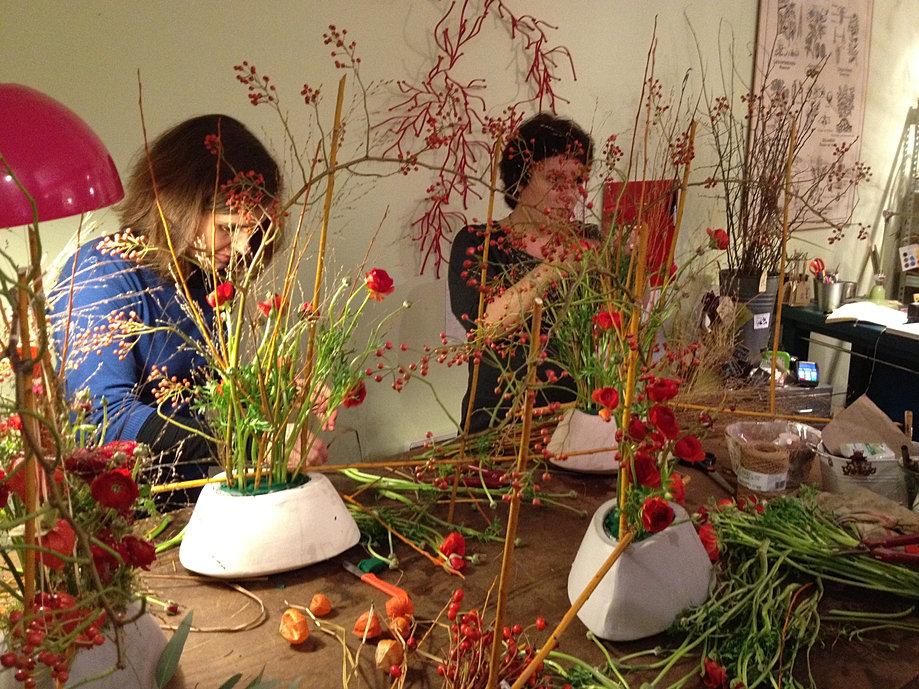 saint l ger cours d art floral l cole des arts blog estaimpuis. Black Bedroom Furniture Sets. Home Design Ideas