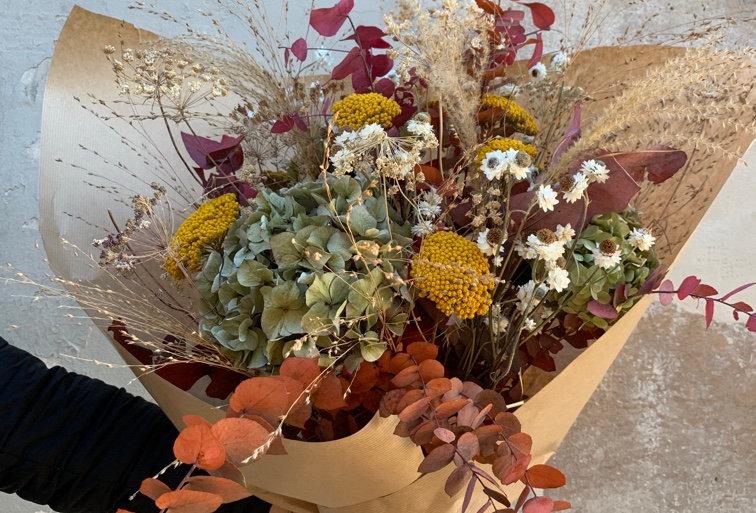 Bouquet de fleurs séchées 07