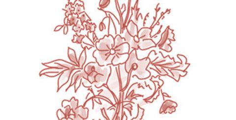 Bouquet fleurs de saison - pour mardi