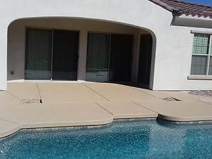 Lace Concrete Coating
