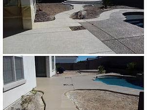Resurfacing concrete