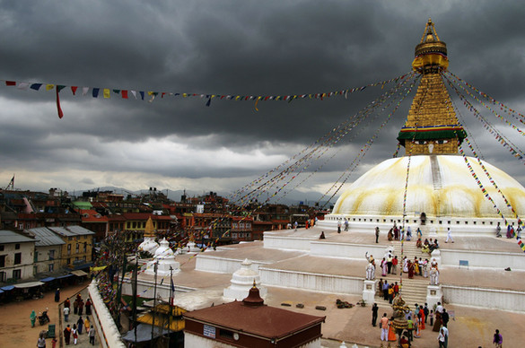 Boudhanath stupa in Kathmandu, Nepal [27