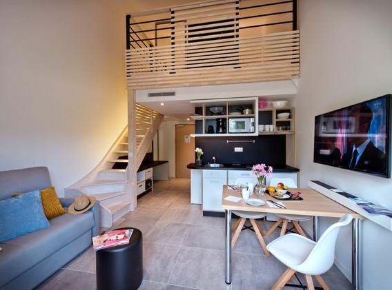 Chambre résidence hôtelière 3*