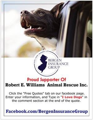 Proud Supporter of Robert E Williams Animal Rescue