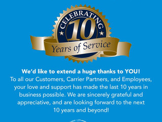 Bergen Insurance Group Celebrates 10 Years of Service