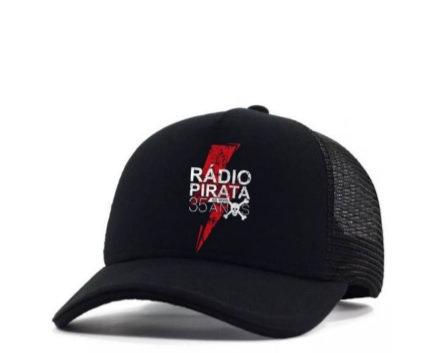Boné da Turnê Rádio Pirata 35 Anos