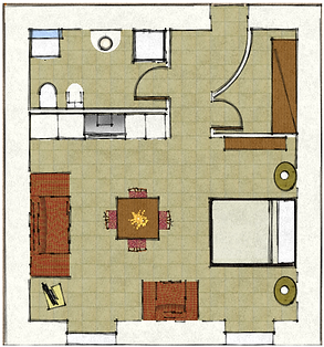 My Suite Home - Lake Garda - Plan