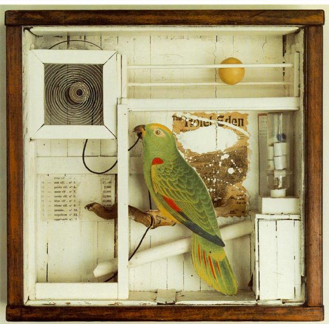 Joseph Cornell / Assemblage Artist