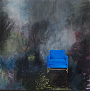 chairs + artists + abstract