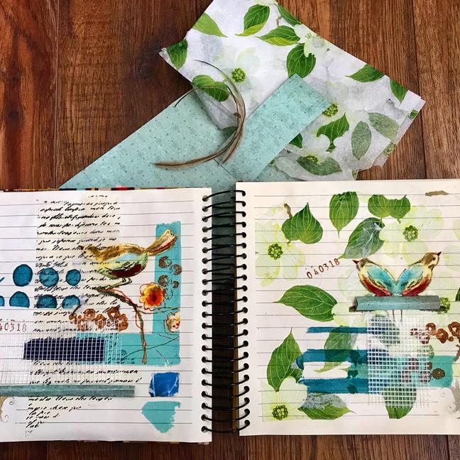 Napkin & Kleenex Tissue In Art