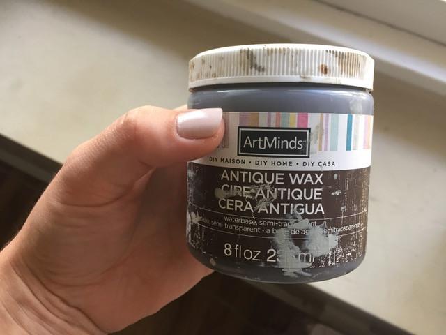 Dark wax product