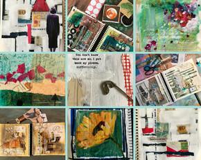 Art journals, Lead The Way.
