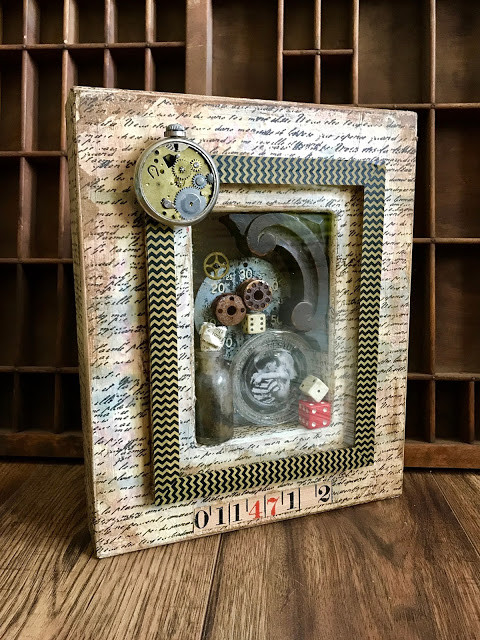 Thrift Store Frames Into Assemblage Art